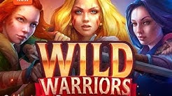 WILD WARRIORS from Playson (FREESPINS, BONUSES, BIGWIN, MEGAWIN, SUPERBIGWIN)