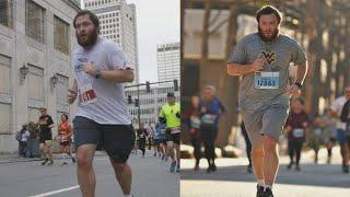 Man with cerebral palsy takes on half-marathon