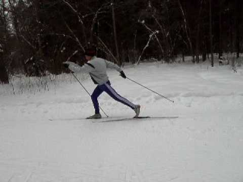 Попеременный двухшажный классический лыжный ход  Попеременный двухшажный классический лыжный ход