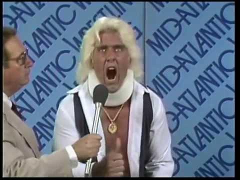 21st September 1983 ~ Ric Flair returns to gain revenge on Slater and Orton