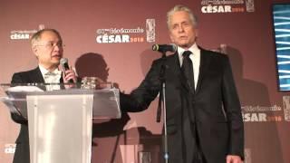 Michael Douglas César d'honneur 2016