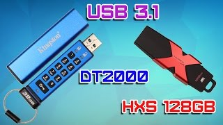 HyperX Savage USB 3.1, Kingston DataTraveler 2000 Обзор. Флэшка Дэдпула и флэшка Джеймс Бонда