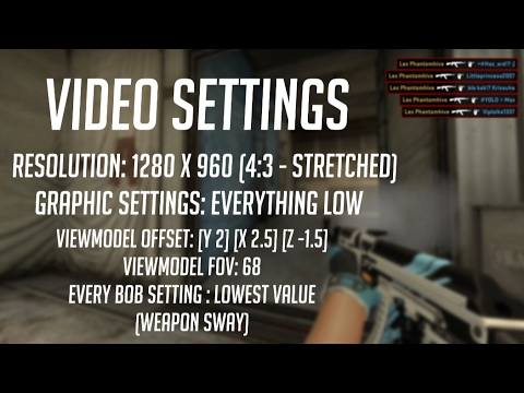 CS Settings Video (2017)