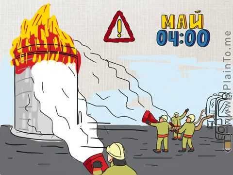 Аварии на опасных объектах