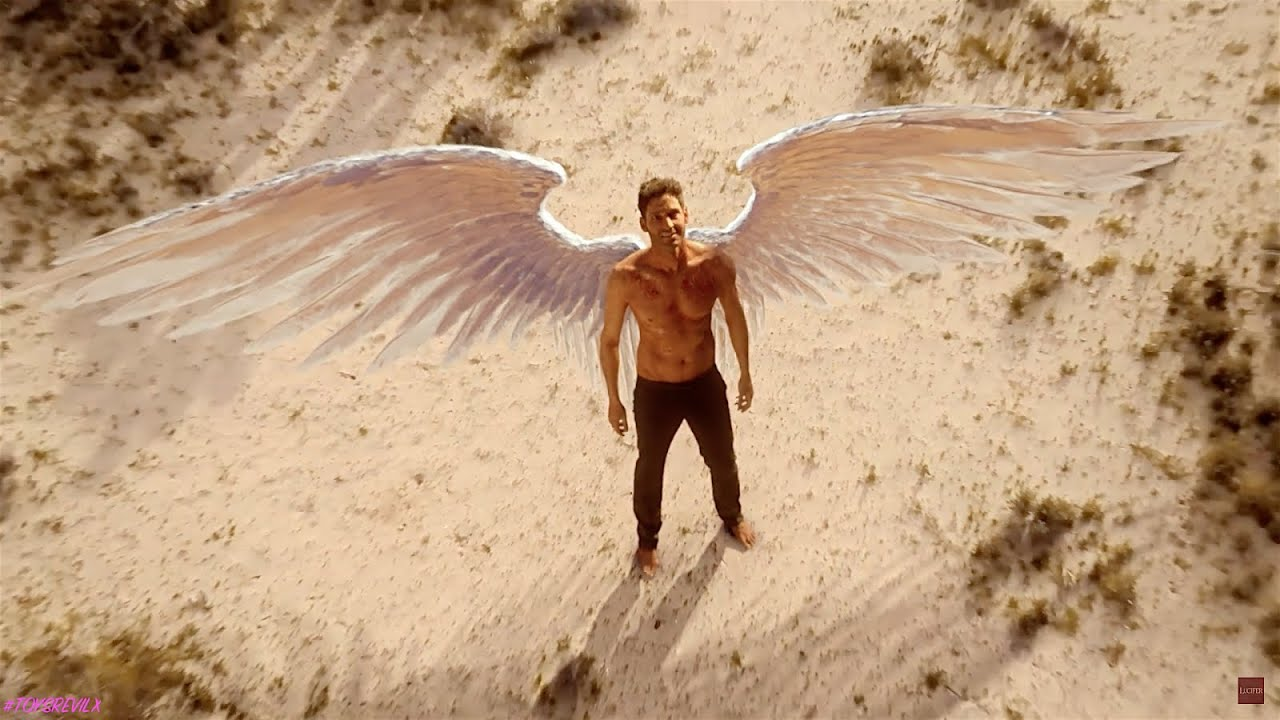 Download Lucifer Season-2 Episode-18 : Ending Lucifer with Wings and wakes in the desert in HINDI (2/2)