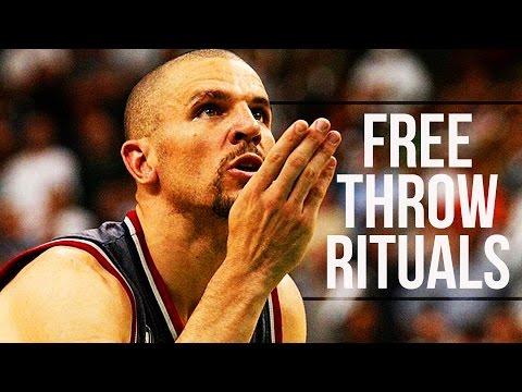 Top 10 NBA Players Free Throw Rituals