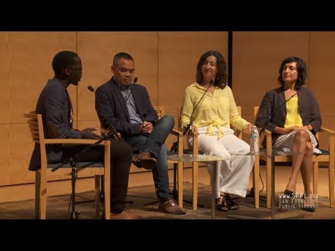 """Litquake """"Bad Hombres"""" Immigrant Writers at the San Francisco Public Library"""
