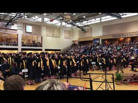 2018 Fremont senior High school graduation
