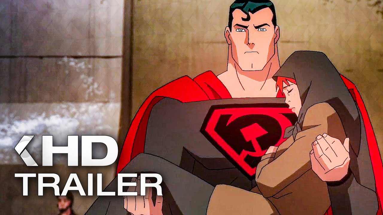 Superman Red Son Trailer 2020 Youtube