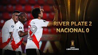 Melhores momentos | River Plate 2 x 0 Nacional | Quartas de final | Libertadores 2020