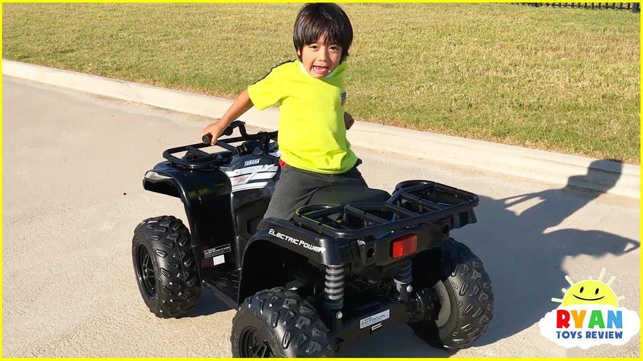 Ryan Build Power Wheel Ride On Car for kids!!!