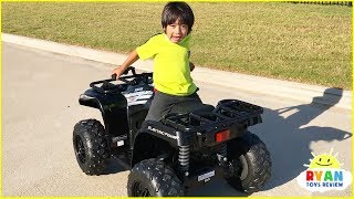 Ryan Build Power Wheel Ride On Car for kids!!!