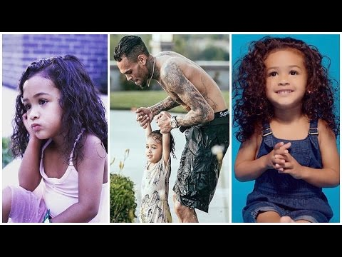 Chris Brown's Daughter - 2017 ( Royalty Brown )