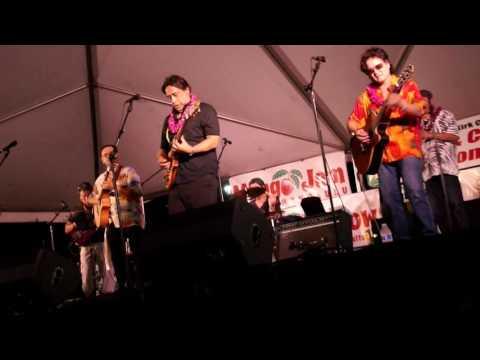 Kalapana  Blacksand instrumental @ Honolulu Hale 2017 Mango Jam