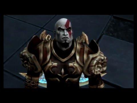 God of War 2 PS3 Walkthrough - Part 1 Colossus of Rhodes Boss Fight  *Nudity*