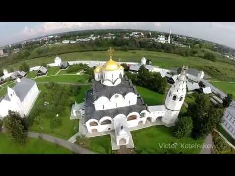 Колокольные звоны в Покровском монастыре Суздаля