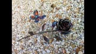 Hand Made Steel/Copper Roses We Sell