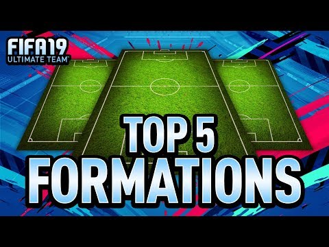 BEST FORMATIONS ON FIFA 19 + INSTRUCTIONS!!
