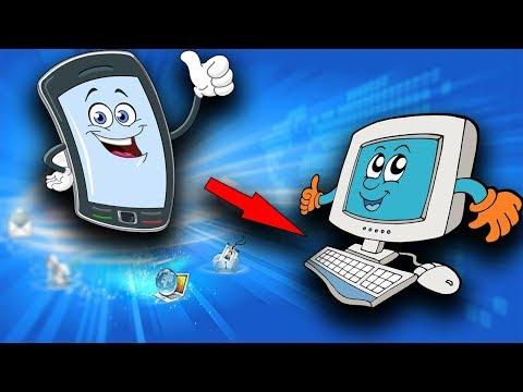Интернет с телефона на компьютер через Usb кабель📱➕💻
