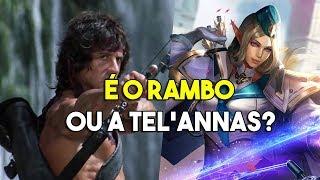 É o Rambo ou a Tel'annas!? - Double Penta Kill - Arena of Valor