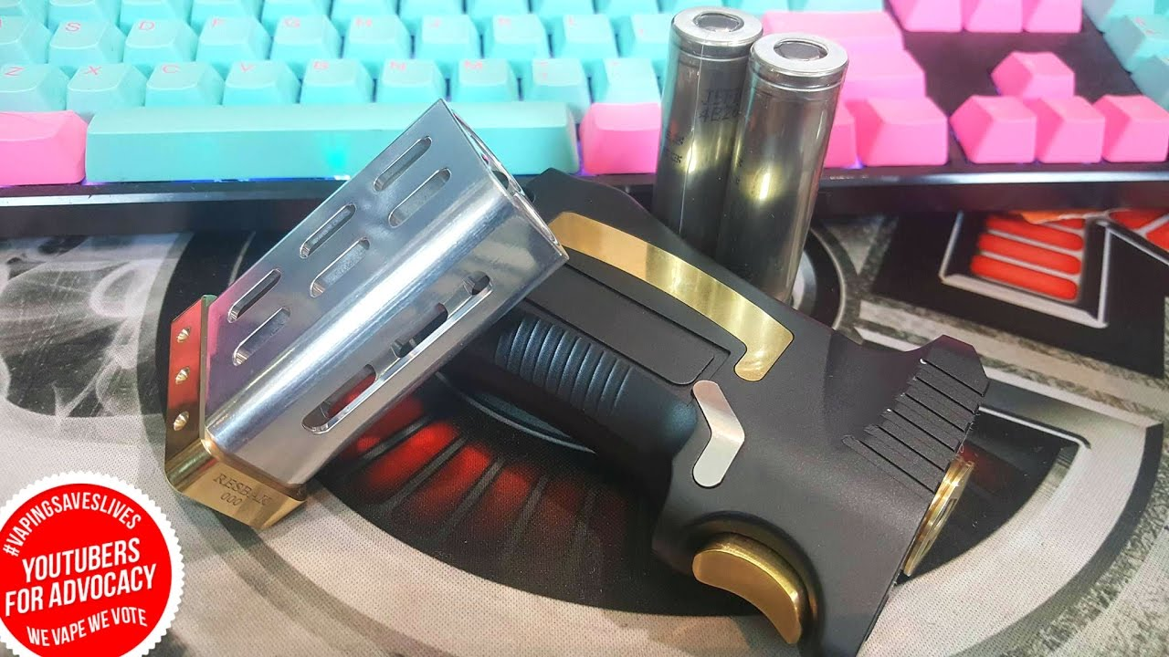 Resbak Mech from Optimum Mods Philippines (Full Strip Down) - The Vaping  Bogan by Vaping Bogan