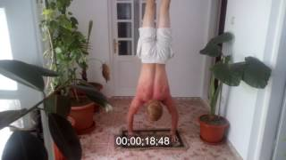 My Record For Longest Handstand