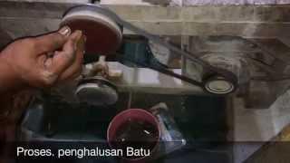 Mesin Pembuatan Batu Cincin Akik dan Permata