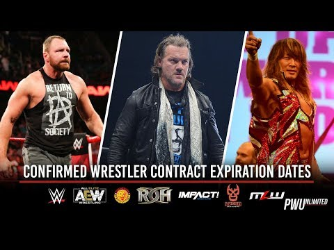 Confirmed Wrestler Contract Expiration Dates: WWE, AEW, NJPW, ROH, IMPACT & More (March 1, 2019)