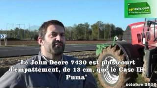 """Jean-Luc Sauvage: """"le Case IH Puma 155 offre le meilleur compromis puissance/ adhérence"""""""
