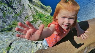ROCK CLIMBING with a 2 year old!!