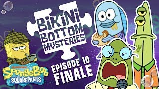Suspicious Fishes 🐟 Bikini Bottom Mysteries Ep. 10 | SpongeBob SquarePants