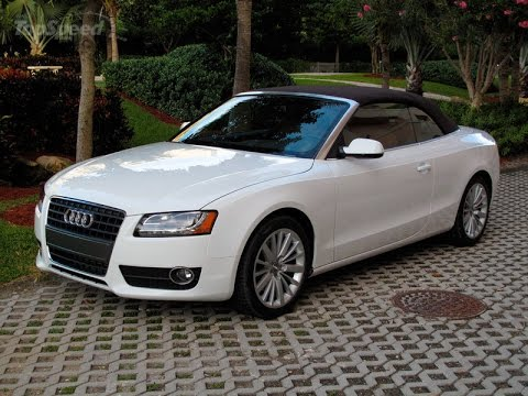 2010 Audi A5 Cabriolet Youtube