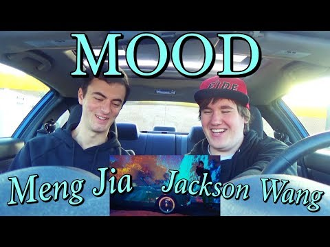 Meng Jia & Jackson Wang (孟佳 & 王嘉尔) - MOOD MV Reaction [BACK IN THE CAR!]