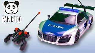 ⭕ Polizeiauto Highway Patrol Dickie - Spielzeug ausgepackt und angespielt - Pandido TV
