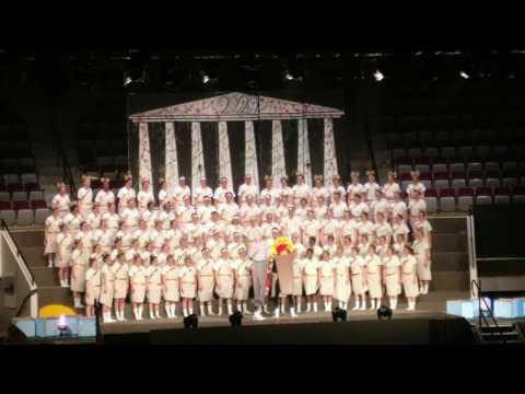 Freshman class act Olympics  Sing Song 2017