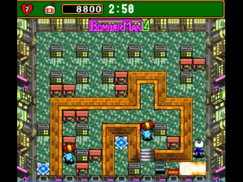 dat bom 4 - Super Bomberman 4 level 1