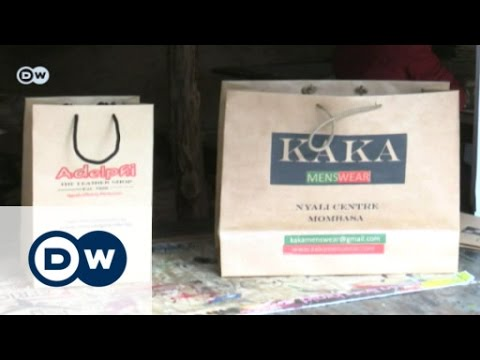 Paper bags tackle plastic mania   Eco-at-Africa