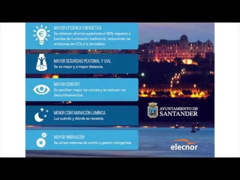 Información Nuevo alumbrado Santander