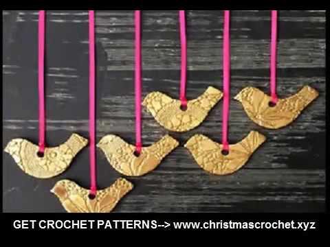 crochet christmas tree ornaments cute crochet