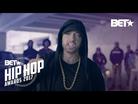 Download Youtube: Eminem Rips Donald Trump In BET Hip Hop Awards Freestyle Cypher