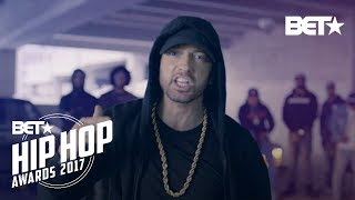 vuclip Eminem Rips Donald Trump In BET Hip Hop Awards Freestyle Cypher