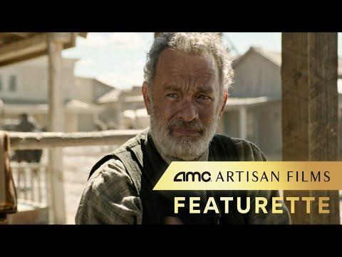 NEWS OF THE WORLD – Featurette (Tom Hanks, Helena Zengel) | AMC Theatres 2020