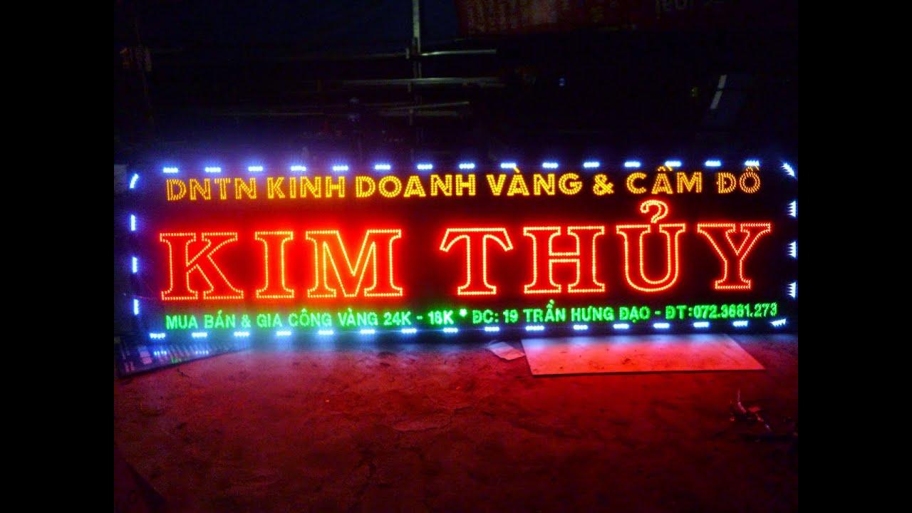 BẢNG HIỆU LED – HỘP ĐÈN LED – BẢNG LED – Khang thinh AD