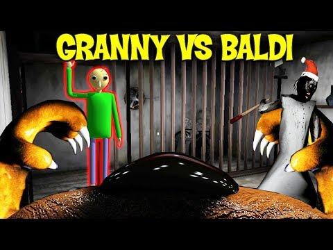 ИГРАЮ ЗА АНИМАТРОНИКА ПРОТИВ ГРЕННИ! - Granny Vs Baldi Multiplayer Horror онлайн хоррор по сети