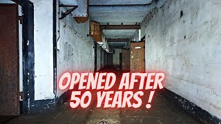 German WW2 gun bunker is opened for the first time in 50 years ! AMAZING !
