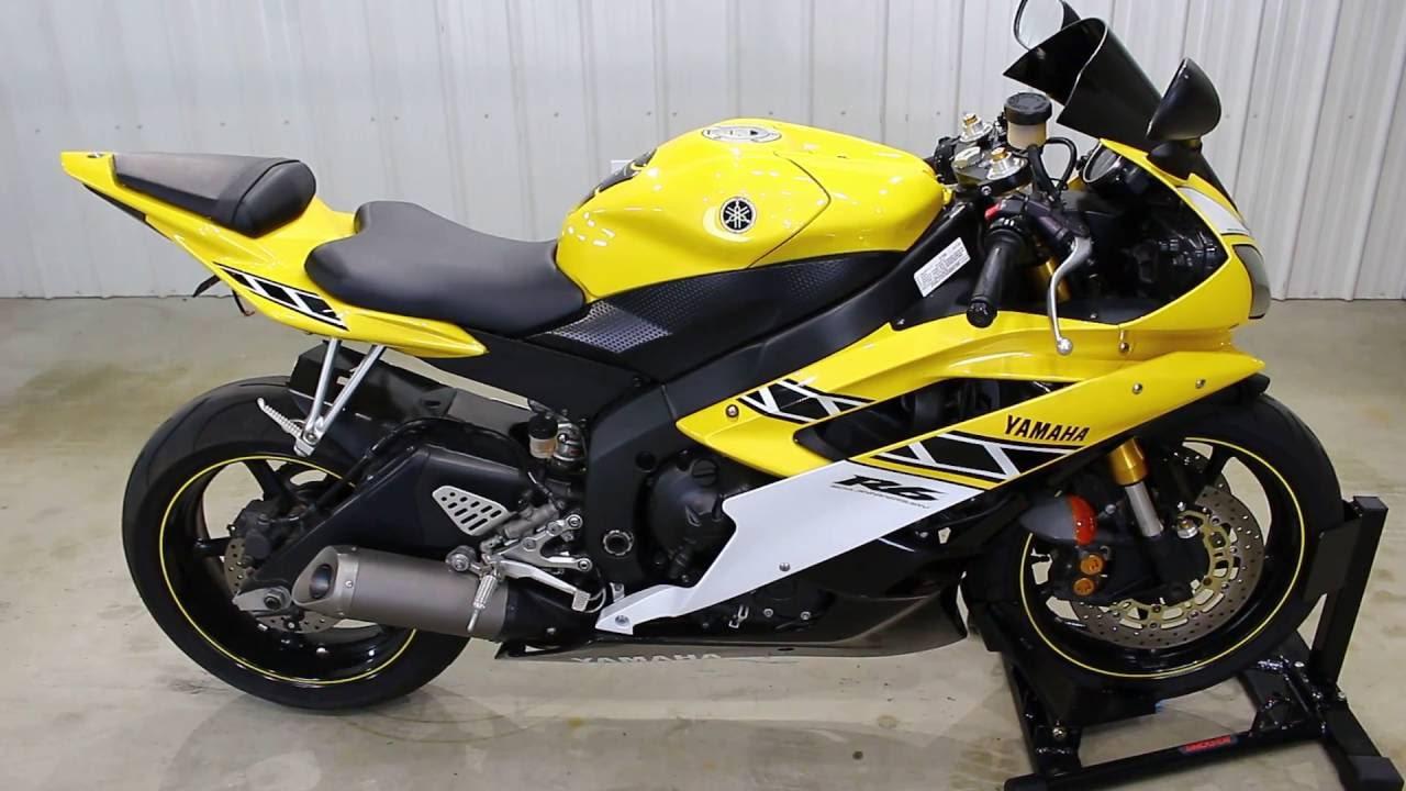 2006 Yamaha R6 50th Anniversary Description