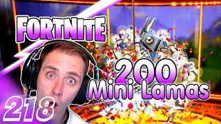 FORTNITE ⚡ Rette die Welt - 200 Mini Lama Opening ◄#218► Let's Play Fortnite - MaikderIV