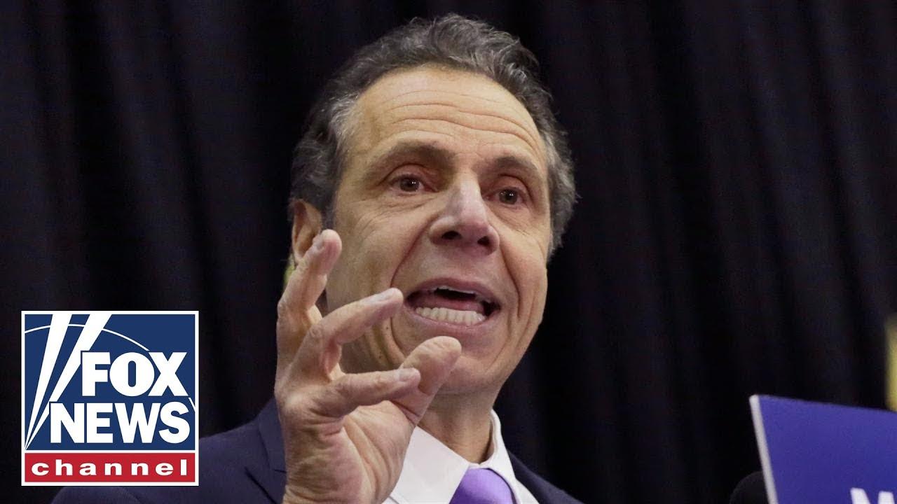 New York Governor Cuomo holds daily press briefing