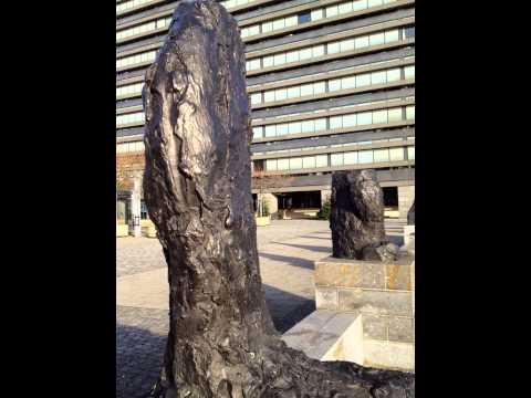Per Kirkeby Sculptures - Copenhagen 2002