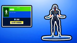 FORTNITE NEW DENIED EMOTE! FORTNITE ITEM SHOP UPDATE! FREE V-BUCKS GIVEAWAY